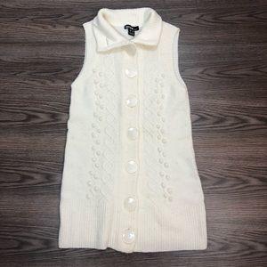 Kensie Long Vest Size XS